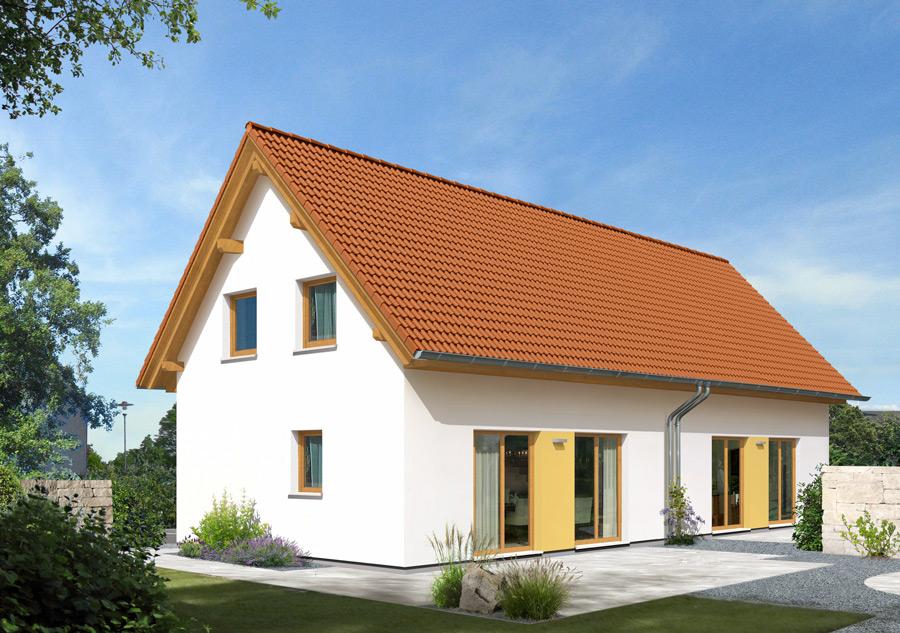 Bau von Doppelhäusern in Ballungsgebieten immer beliebter