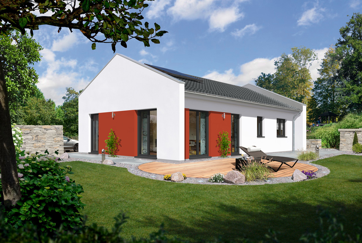 Funktional variabel modern der neue bungalow 100 von for Moderne bungalows grundrisse