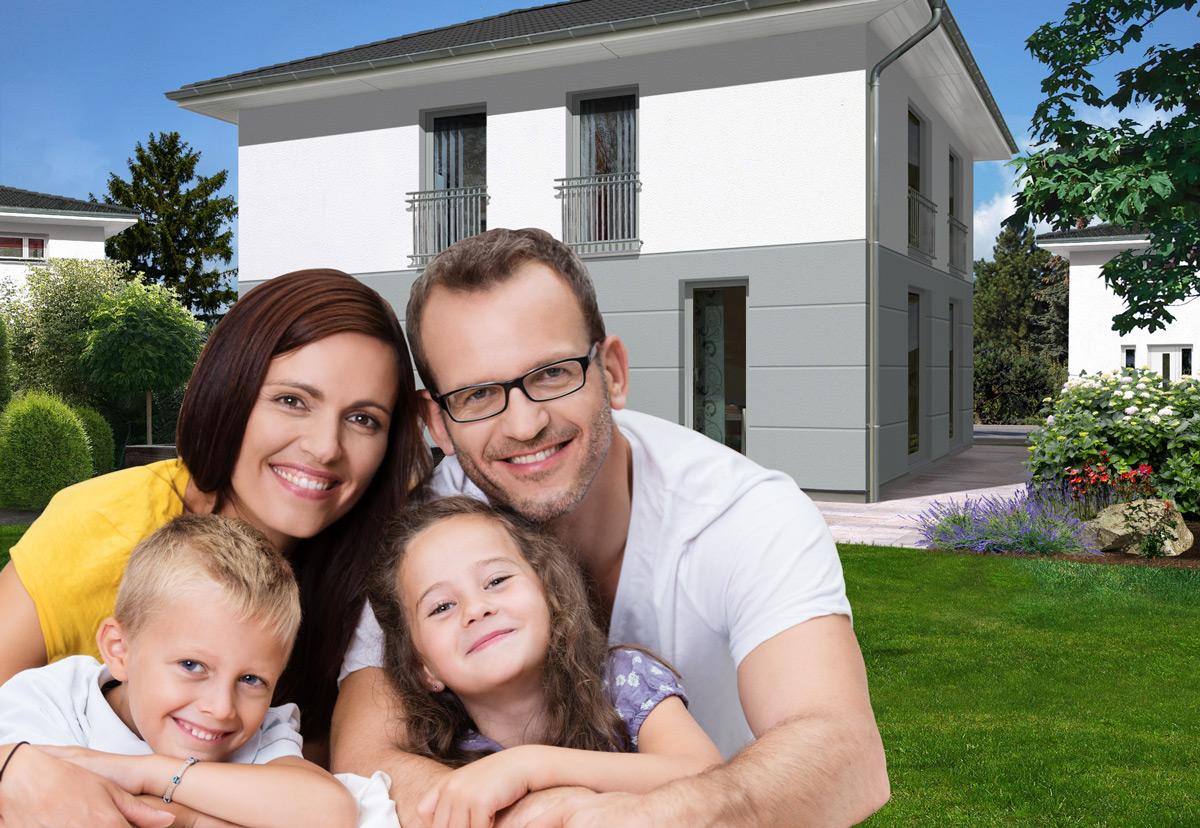 Einfamilienhaus bauen in der Stadt