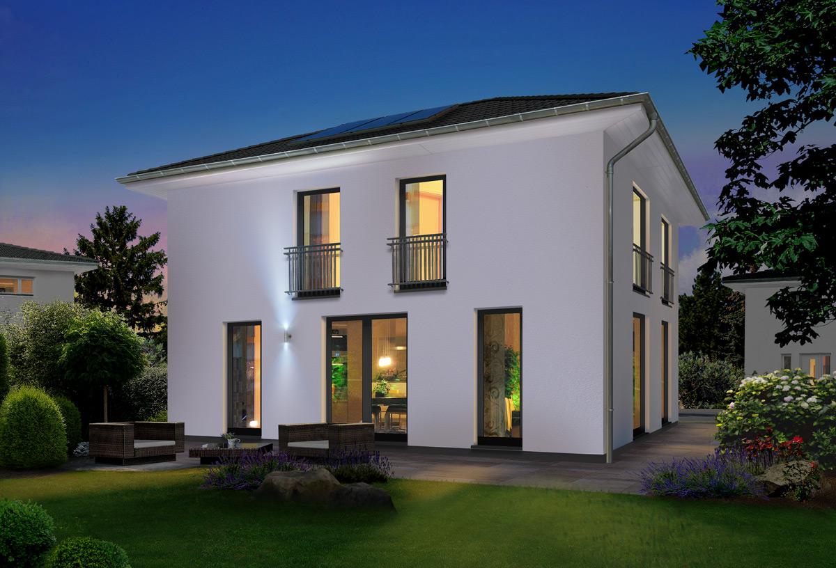 Modernes Stadthaus für Normalverdiener: Das neue Flair 152 RE von Town & Country Haus
