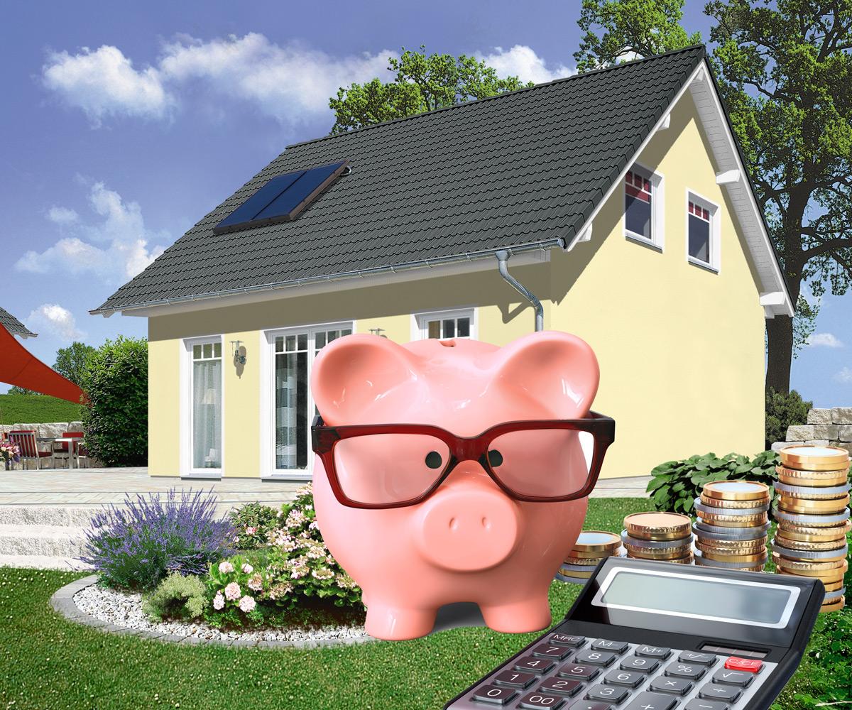 Hausbau-Tipp: Jetzt die niedrigen Zinsen sichern!