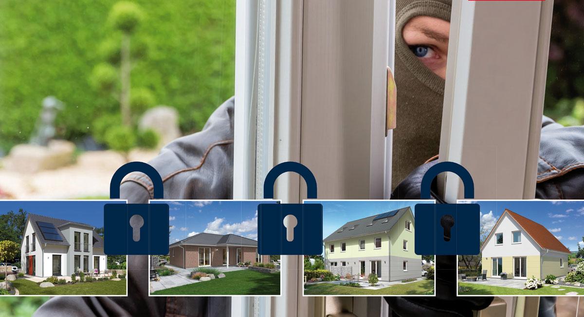 Massivhaus vor Einbrechern schützen – Das können Sie tun!