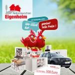 Informieren und tolle Preise gewinnen: Aktionswochen Eigenheim vom 8. bis 25. Oktober 2016