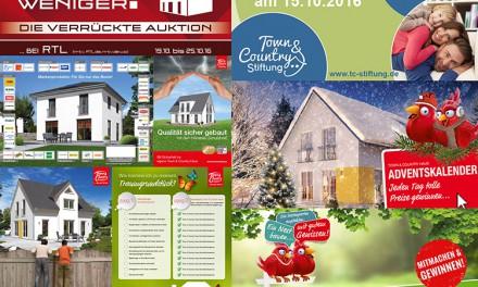 Town & Country Haus: Werben mit System
