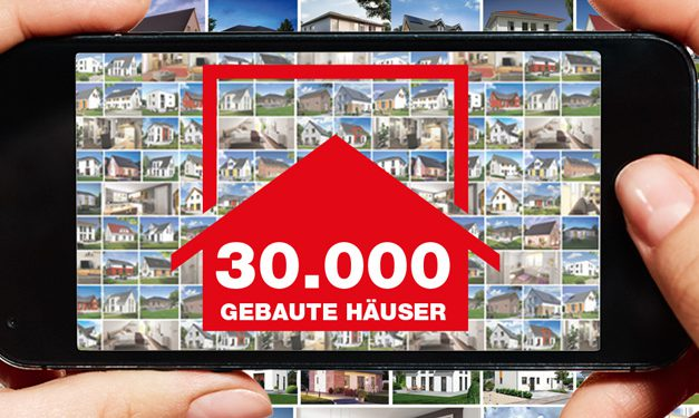 Town & Country Haus baut 30.000 Massivhaus