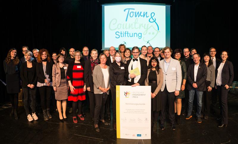Preisverleihung des 5. Stiftungspreises der Town & Country Stiftung – Spendenrekord mit 585.000 Euro