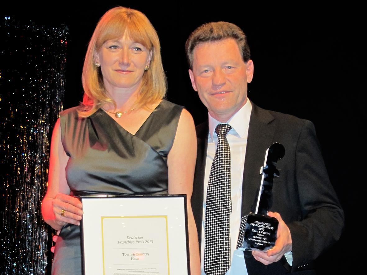 Deutscher Franchise-Preis 2013 für Town & Country Haus