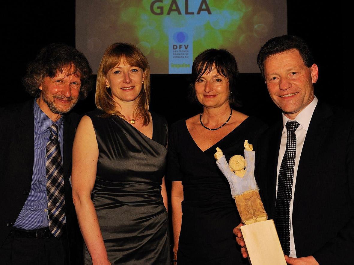 Town & Country Haus-Gründer mit 1. DFV Green Franchise Award ausgezeichnet