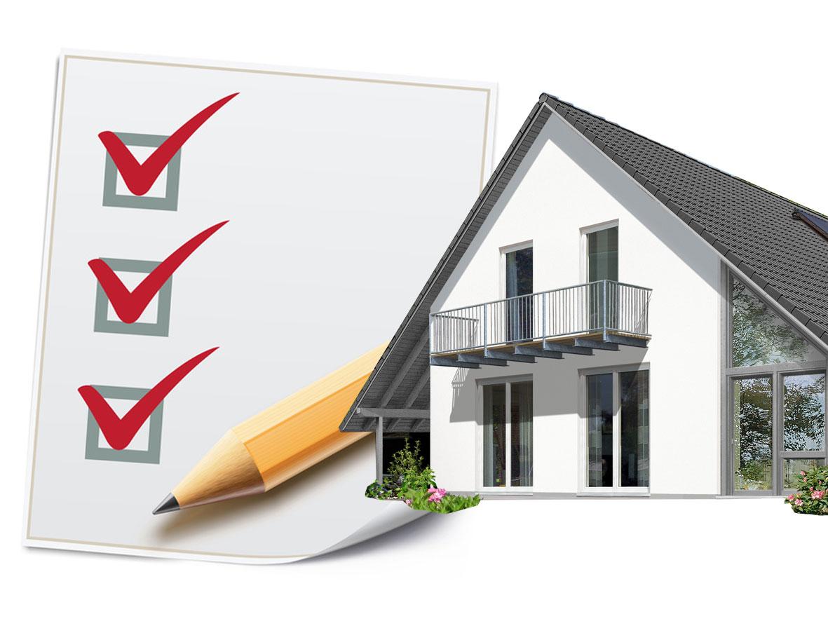 Bauherren sollten vor Hauskauf unbedingt Checkliste abhaken