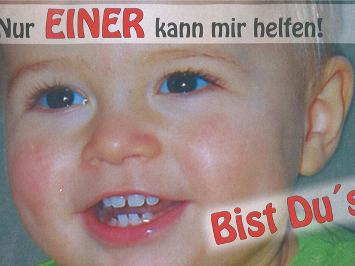 Der zweijährige Felix aus Meerane benötigt dringend eine Stammzellenspende!