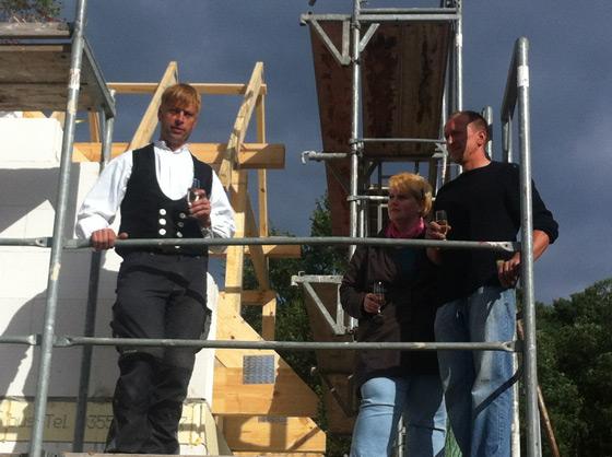 Baubeginn beim RTL-Traumhaus in Kraupa