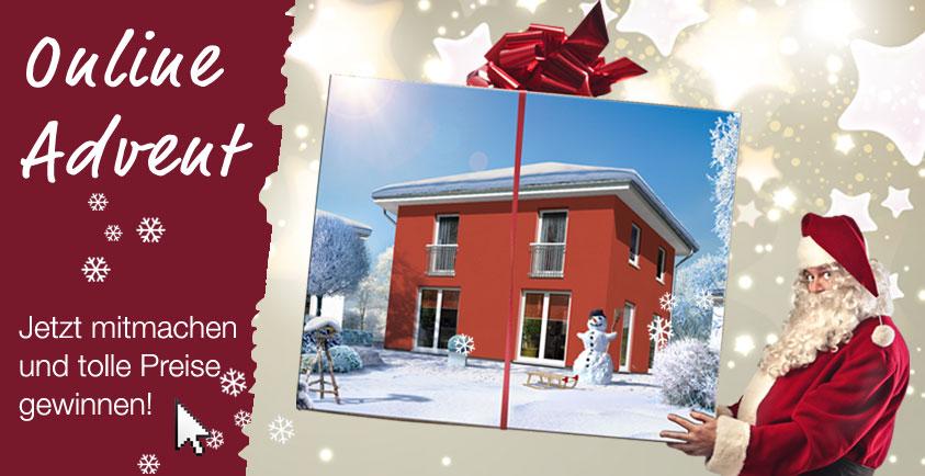 Versüßen Sie sich die Vorweihnachtszeit – Mit dem Adventskalender von Town & Country Haus