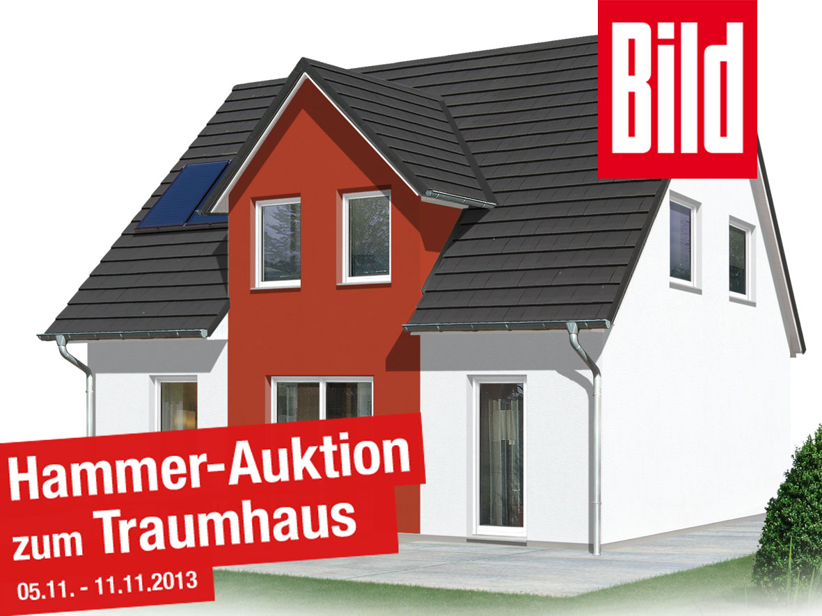 BILD-Gruppe versteigert Eigenheim von Town & Country Haus