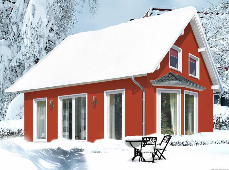 Im Winter ein Massivhaus bauen – Moderne Baustoffe machen es möglich