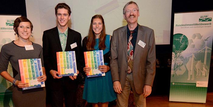Junge Forscher aus Bayern erhalten Sonderpreis beim Bundesumweltwettbewerb 2014