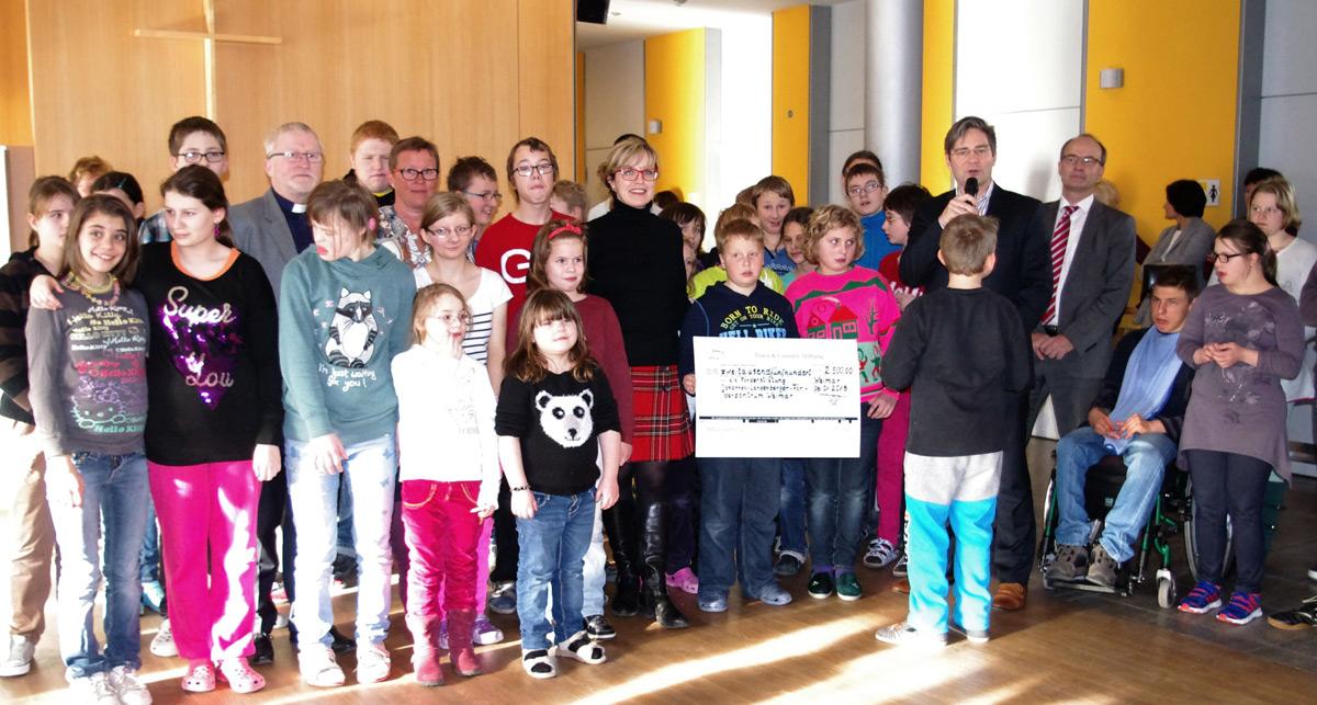 Town & Country Stiftung unterstützt die Förderstiftung des Johannes-Landenberger-Förderzentrums in Weimar mit 2.500 €