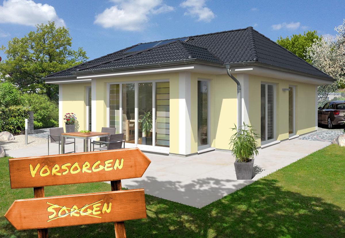 Kluge Ruhestandsplanung: Massivhaus als sichere private Altersvorsorge