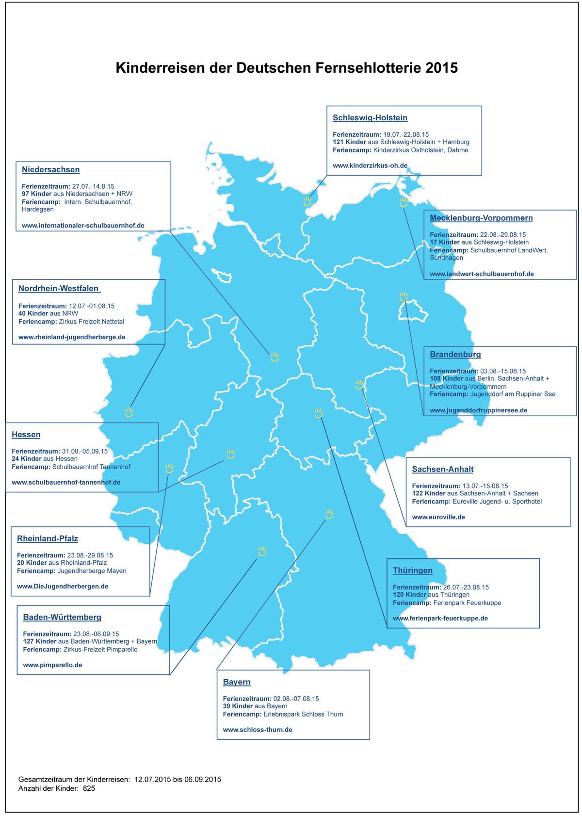 Deutschlandkarte-Kinderreisen