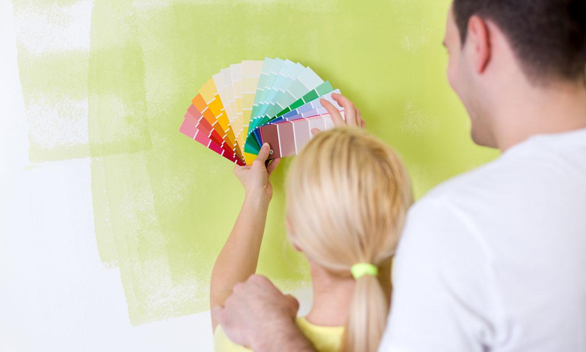 Einrichtungstipp: Welche Wandfarbe ist die richtige?