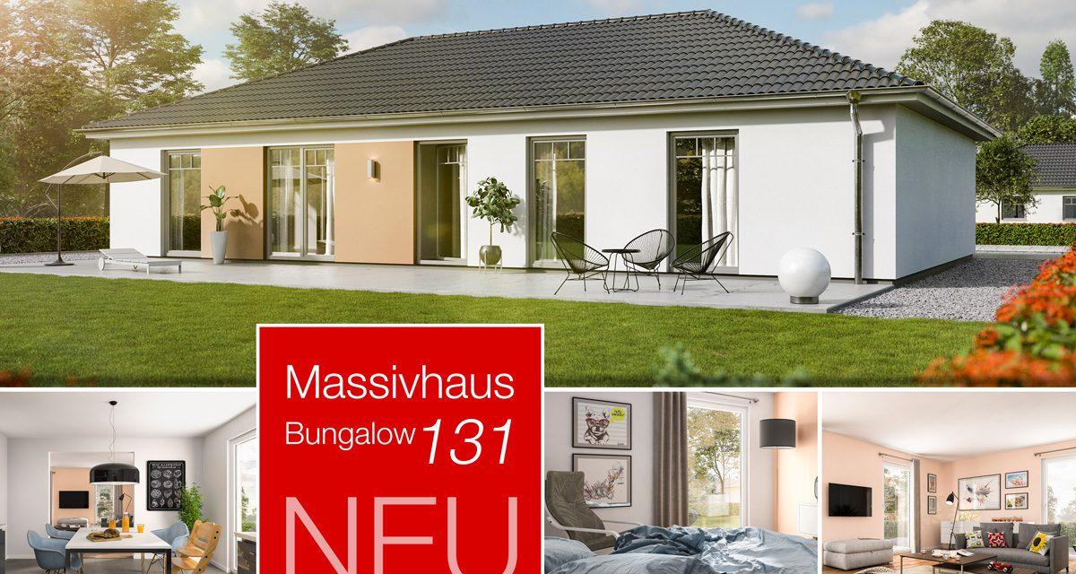 Der neue Bungalow 131: Flexibel, stufenlos, familienfreundlich