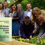PflanzenWelten-Hochbeete als UN-Dekade Projekt ausgezeichnet