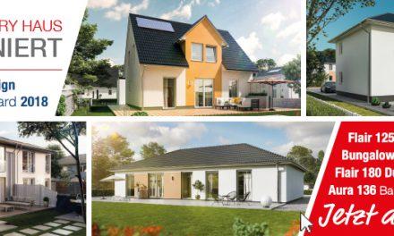 Hausbau Design Award 2018 – Wählen Sie Ihr Lieblingshaus!