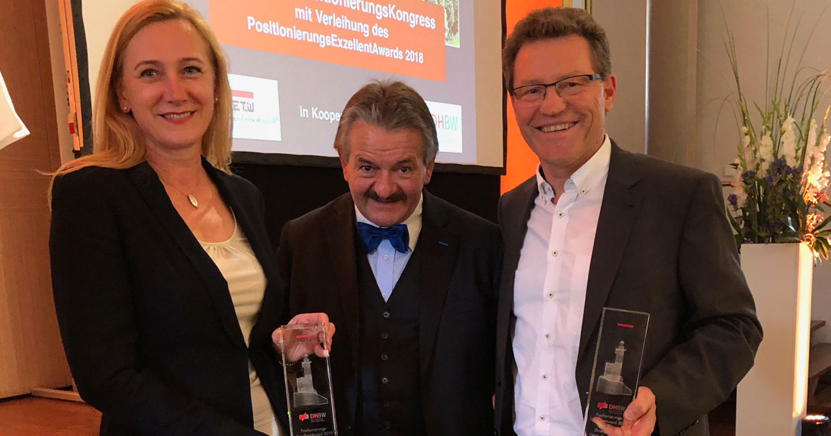 Gabriele und Jürgen Dawo erhalten Ehrenpreis
