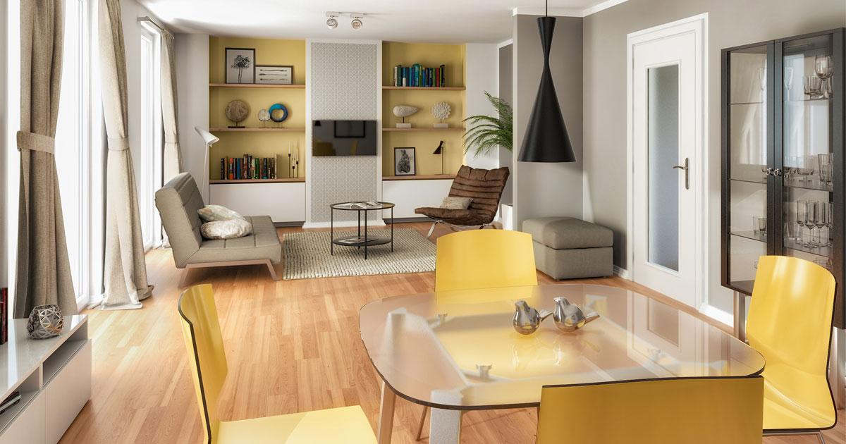 Wohn- und Einrichtungstrends 2019: Wohlfühlen mit einem Hauch von Luxus
