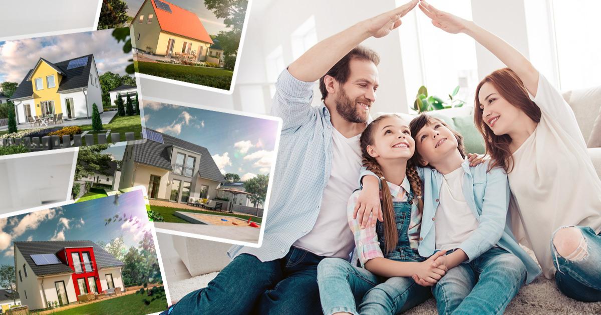 Familienleben im Massivhaus mit Flair