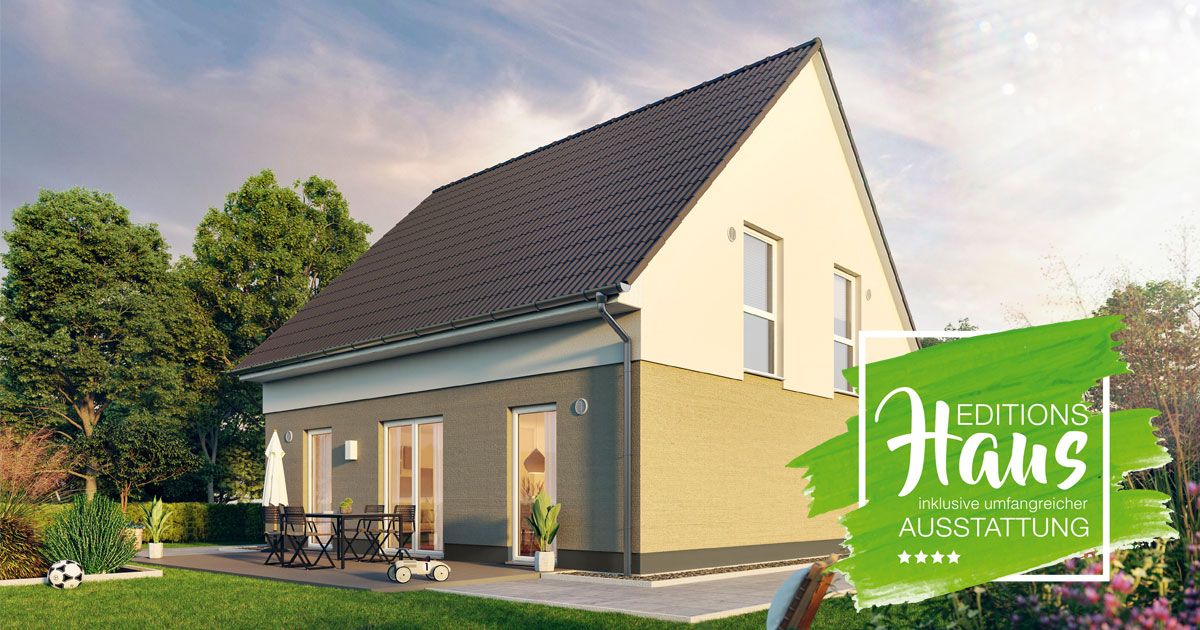 Das Edition Clever 138+: Das neue Massivhaus mit dem Plus an Ausstattung