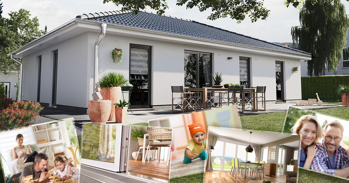 Bungalow – Entspanntes Wohnen auf einer Ebene für jedes Alter