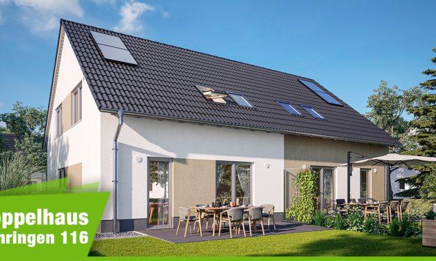 Modernisierter Klassiker: Das Doppelhaus Behringen 116 in neuer Optik