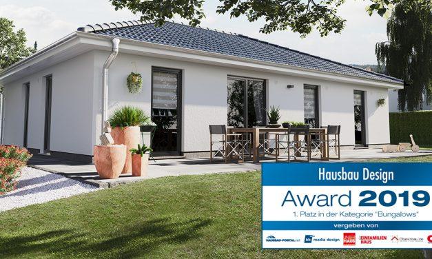 Gewinner des Hausbau Design Awards 2019: Der Bungalow 110