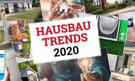 Hausbau-Trends 2020: Moderne Massivhäuser sind smart, energieeffizient und barrierearm