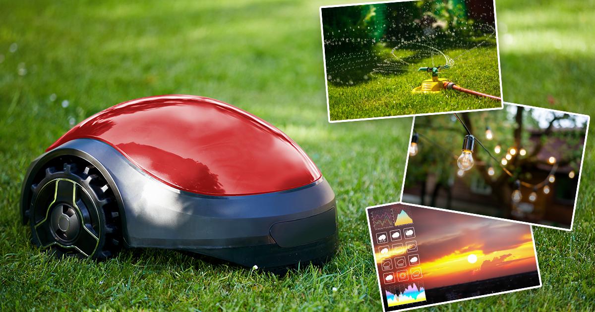 Smart Garden: Wenn sich der Garten selbst pflegt