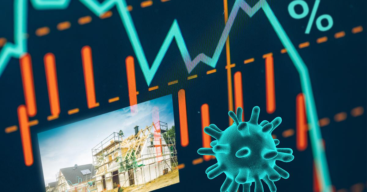 Corona-Krise drückt die Zinsen für Baukredite