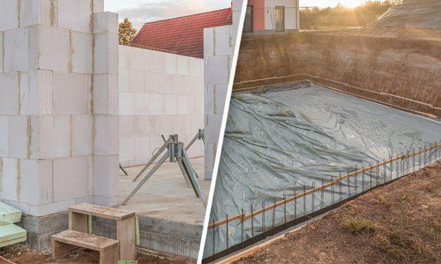 Keller bauen oder Bodenplatte legen – das sind die Vorteile und Nachteile