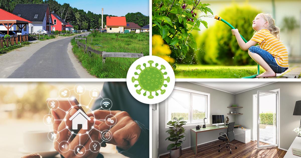 Wohnen nach Corona: Wie verändert das Virus die Zukunft des Hausbaus?