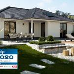 Hausbau Design Award für den Winkelbungalow 108 von Town & Country Haus