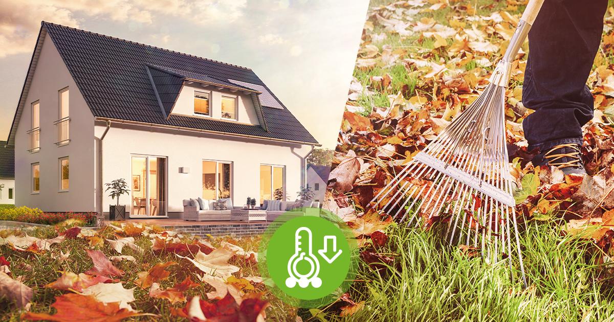 Das Eigenheim im Herbst: Haus und Garten winterfest machen