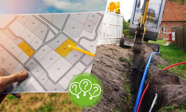 Grundstück unbebaubar: Glasfaserkabel machen Traum vom Hausbau zunichte