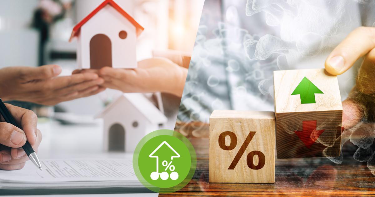 Immer mehr Baukredite, aber Corona lässt die Zinsen steigen